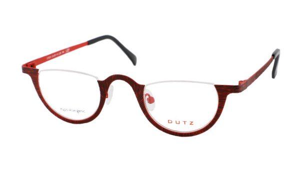 Leesbril Dutz lookover DZ629 65 rood