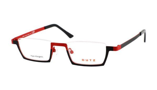 Leesbril Dutz lookover DZ695 65 rood / zwart