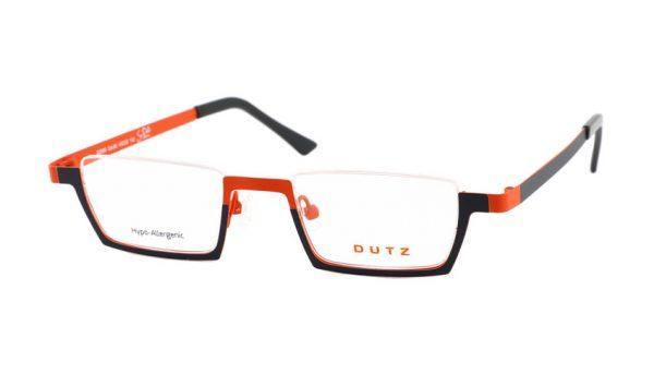 Leesbril Dutz lookover DZ695 85 zwart oranje
