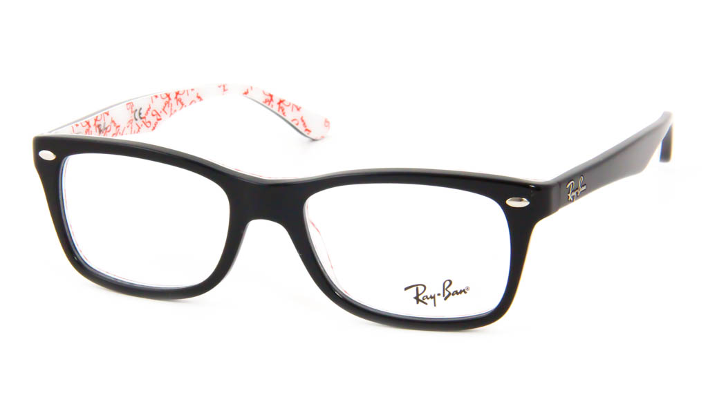Leesbril Ray-Ban RB5228-5014-50 zwart/wit