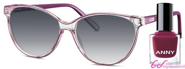 Leeszonnebril Anny eyewear stiletto lady paars + gratis nagellak 963003-505
