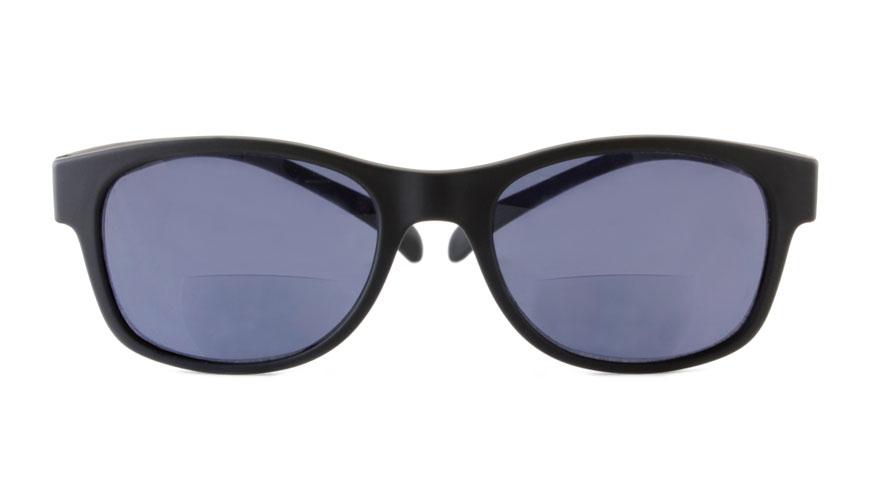 Leeszonnebril bifocaal Klammeraffe zwart