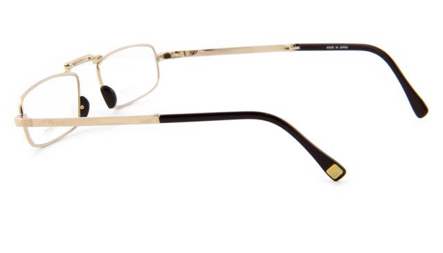 Opvouwbare leesbril St. Dupont 8030U C1 goud