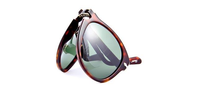 Opvouwbare zonneleesbril Persol 0714-52-2431 havanna/bruin