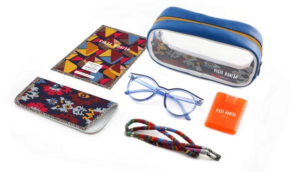Set leesbril Vista Bonita VB008 Kelim Blue