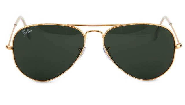 Zonneleesbril Ray-Ban Aviator RB3025-L0205-58 goud