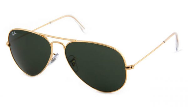Zonneleesbril Ray-Ban Aviator RB3025-L0205-58 goud