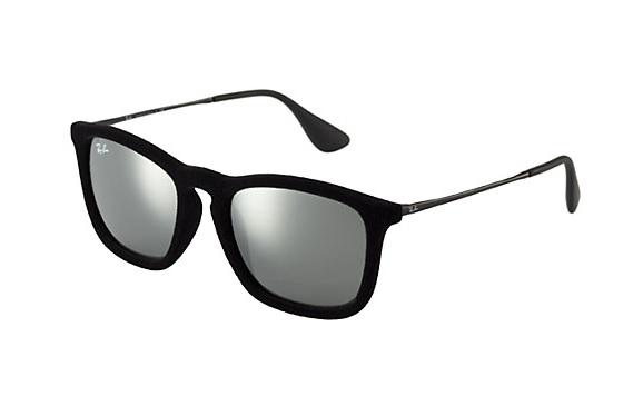 Zonneleesbril Ray-Ban Erika RB4171-6075/6G-54 fluweel zwart