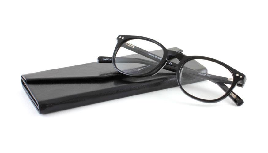 Brillen Koker opvouwbaar zwart