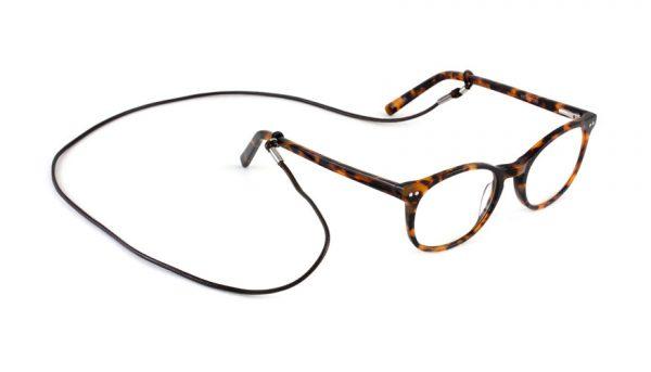 Brillenkoordjes grijs - 3 stuks