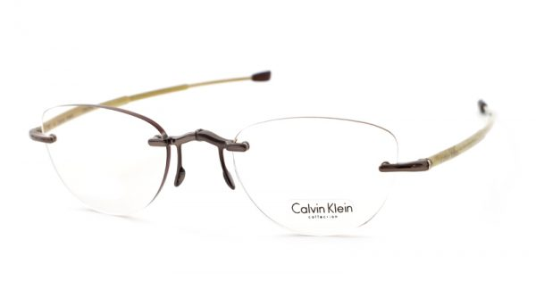 Calvin Klein opvouwbare leesbril CR2 209 goud
