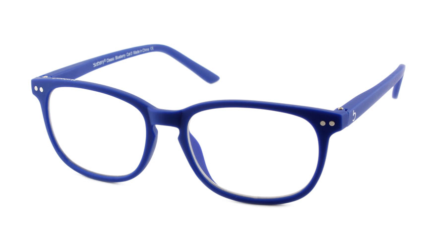 Computerbril Blueberry XL blauw