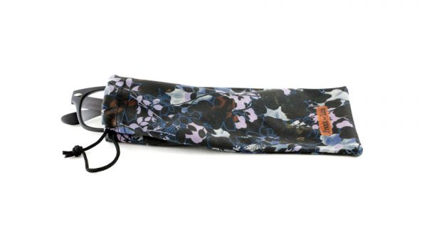 Etui Frank and Lucie dark flowers