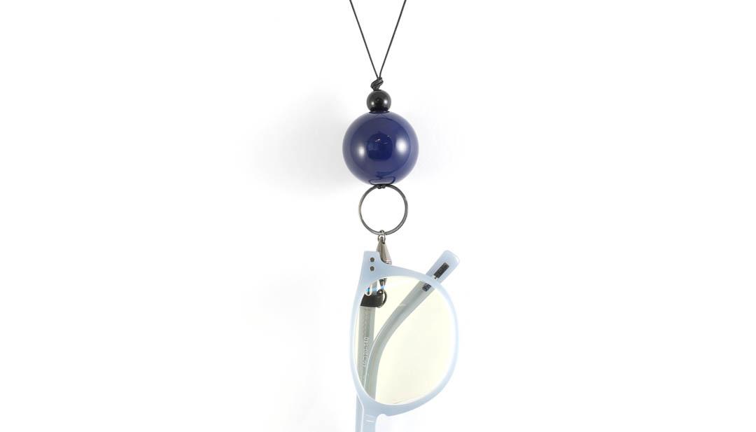Eyesonoff brilketting Choupa blauw