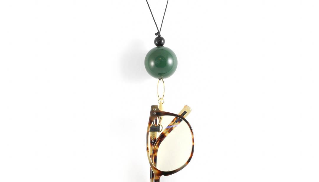 Eyesonoff brilketting Choupa groen