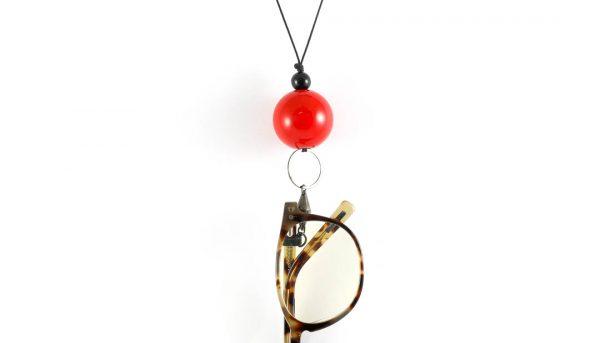 Eyesonoff brilketting Choupa rood
