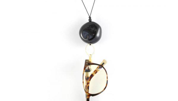 Eyesonoff brilketting robuust rond zwart
