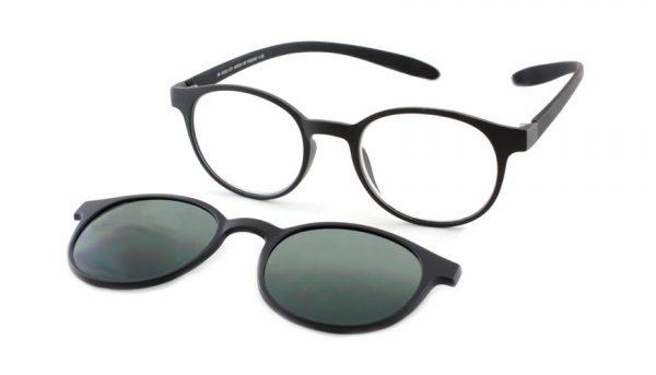Lees en zonneleesbril in één Proximo PRIS002 C01 zwart