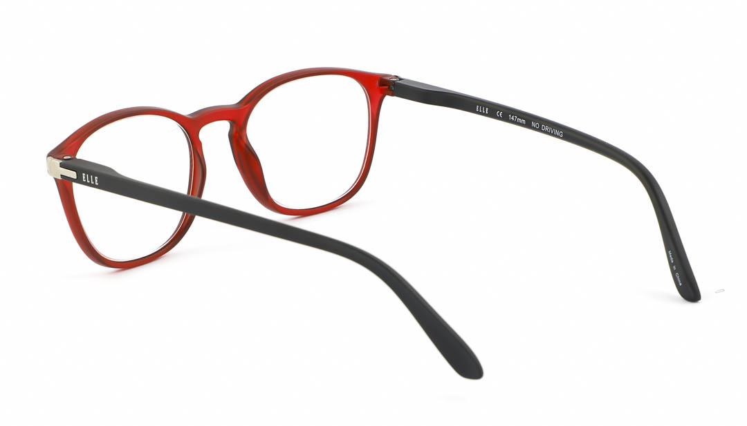 Leesbril Elle Eyewear EL15931 rood zwart