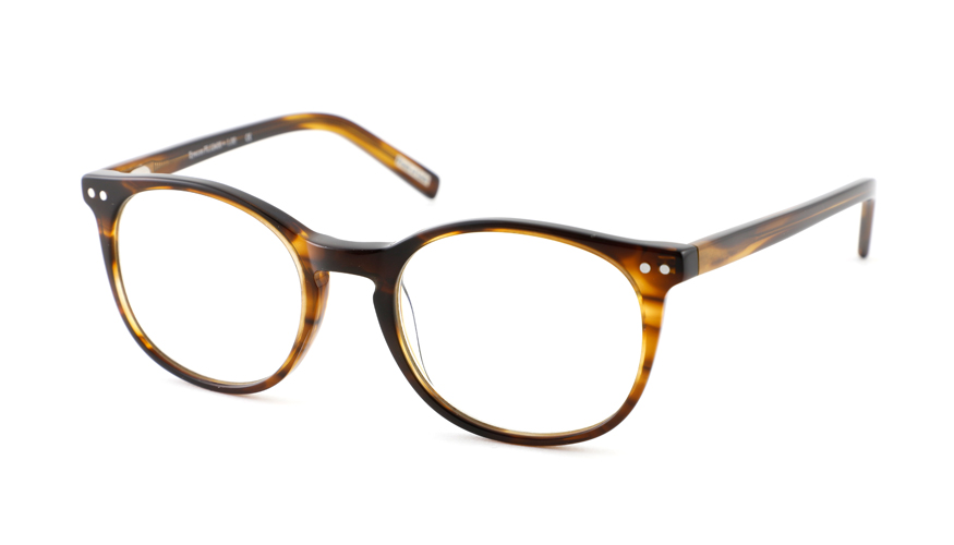 Leesbril Frank and Lucie Eyecon FL12400 Amber Brown