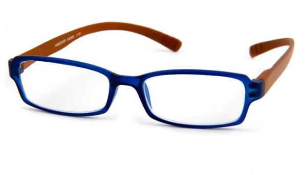 Leesbril INY Hangover G45900 bruin/blauw