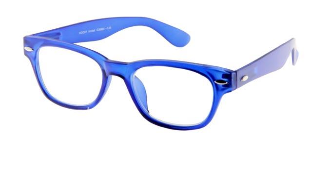 Leesbril INY Woody G38800 blauw/transparant