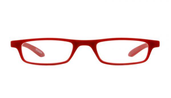 Leesbril INY Zipper G27100 mat rood
