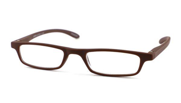 Leesbril INY Zipper G27200 mat bruin +2.00