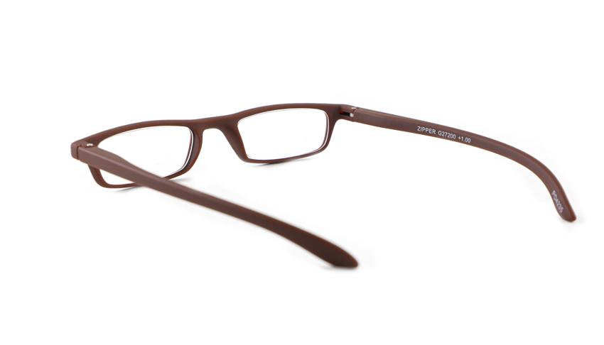 Leesbril INY Zipper G27200 mat bruin