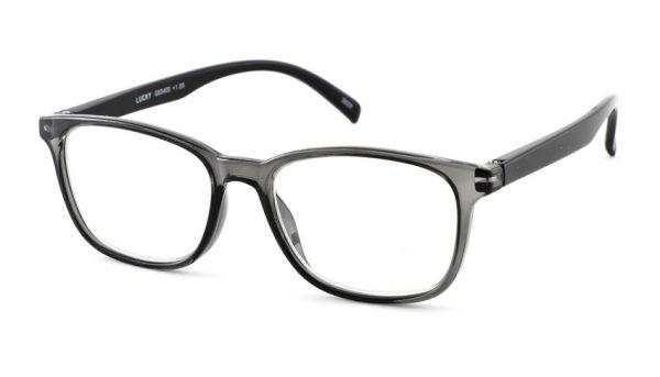 Leesbril INY lucky G65400 grijs-zwart