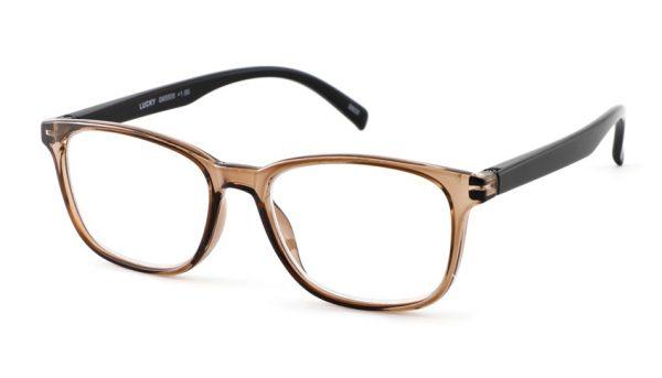 Leesbril INY lucky G65500 bruin-zwart