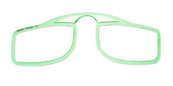 Leesbril OOPS groen/transparant