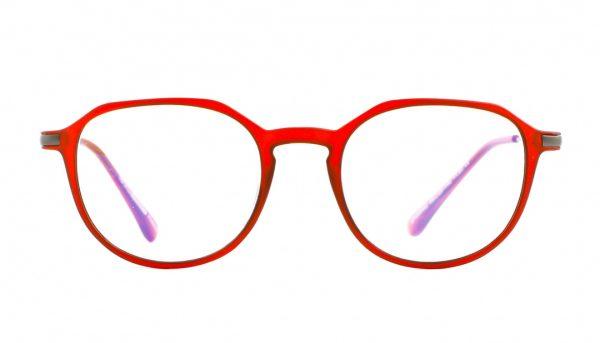 Leesbril Ofar Office Multifocaal CF0004C rood met blauwlicht filter