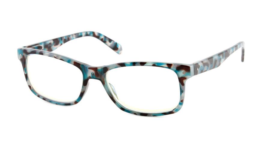 Leesbril Polaroid PLD0023 blauw/havanna