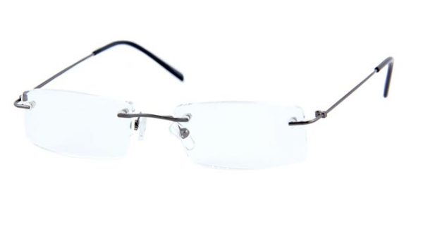 Leesbril Polaroid randloos S3433 gun/zwart