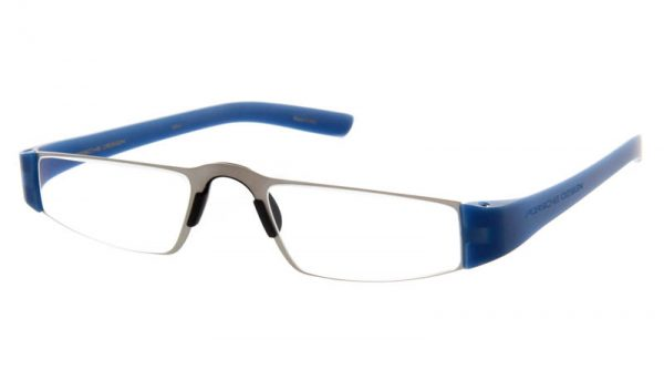Leesbril Porsche Design Limited Edition P'8801n titanium/helderblauw