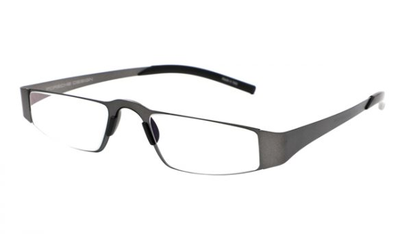 Leesbril Porsche Design P'8811b full titanium zilver/grijs