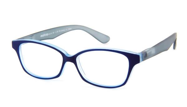 Leesbril Readloop Cauris 2604-03 blauw/grijs
