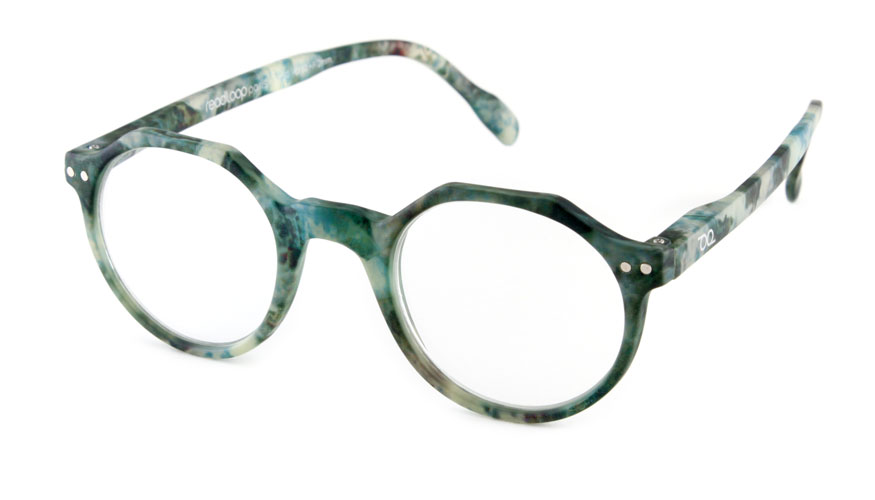 Leesbril Readloop Hurricane 2623-19 marmer/groen