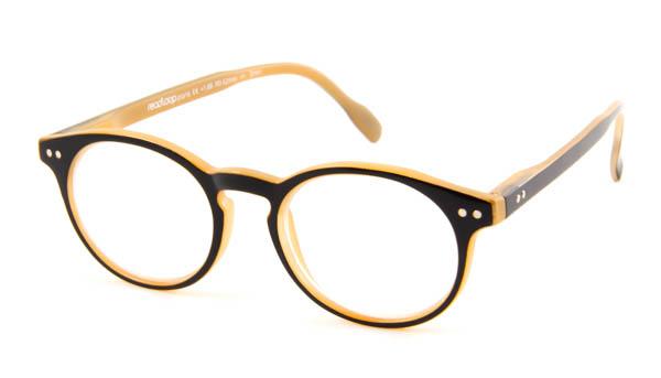 Leesbril Readloop Tradition 2601-03 zwart/beige