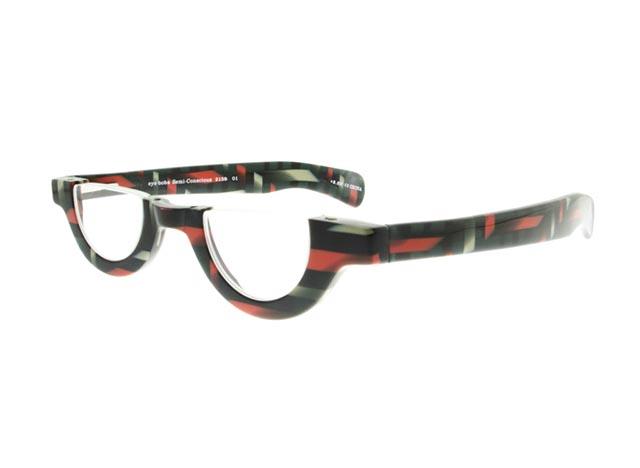 Leesbril Semi-Conscious 2159 01 zwart/rood