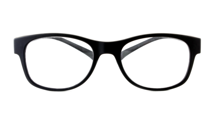 Leesbril bifocaal Klammeraffe zwart