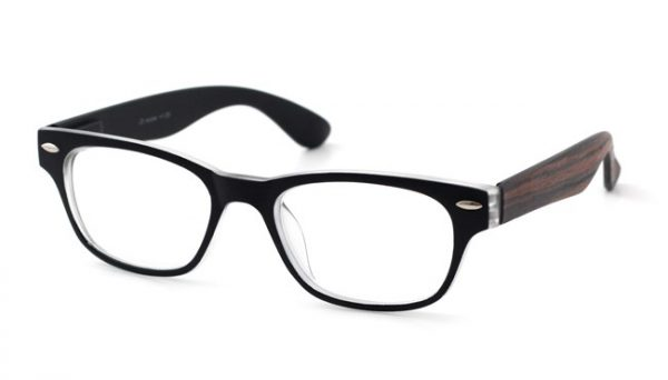 Leesbril iZi reader 50 zwart / hout