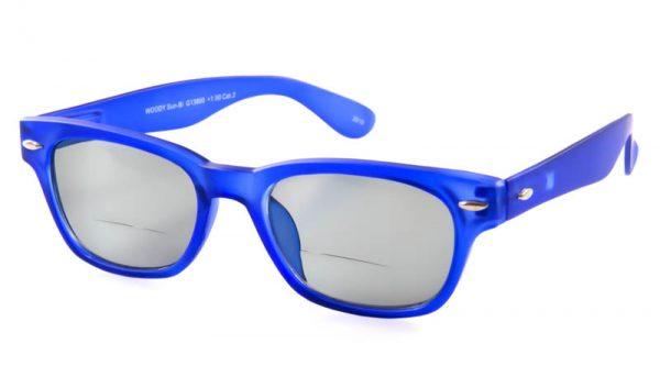 Leeszonnebril INY Woody Bifocaal G13800 blauw