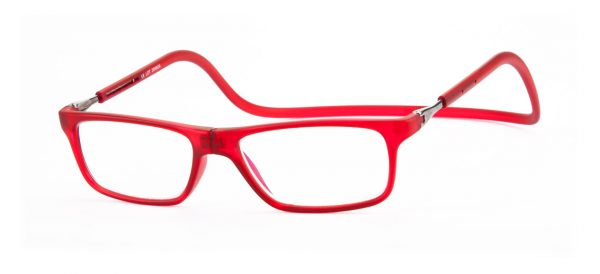 Magneet leesbril Nordic Glasögon Lund rood
