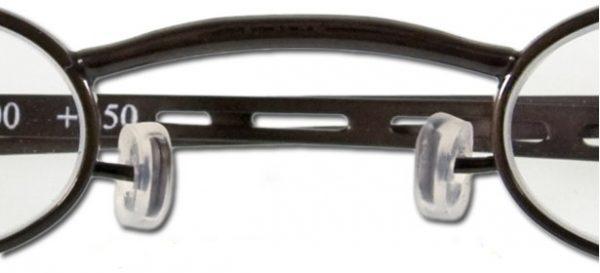 Siliconen neuspads rond voor G5500 9MM leesbril