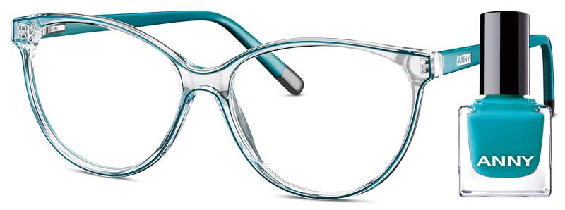 Leesbril Anny eyewear addicted to shoes groen + gratis nagellak 963003-705