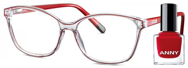 Leesbril Anny eyewear only red + gratis nagellak 963002-505