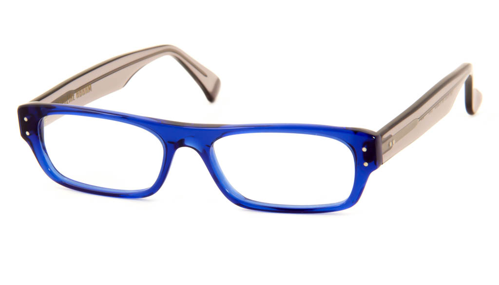Leesbril Caroline Abram Elie 22 grijs/blauw