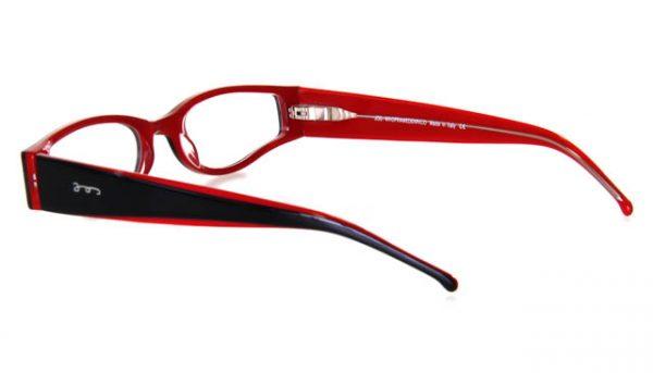 Leesbril JOS 9125-B226 zwart/rood